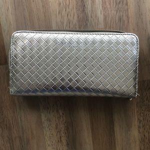Beautiful gold wallet